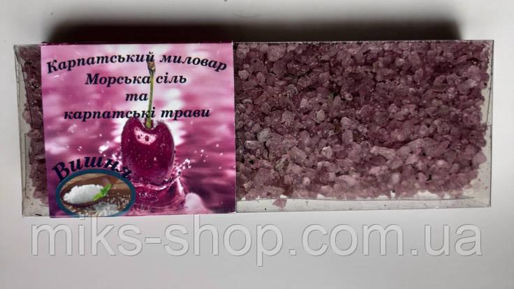 """Морська сіль  для ванни """"Вишня """", фото 2"""