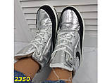 Дутики ботинки термоботинки зимние серебро 38, 39, 40 (2350), фото 4
