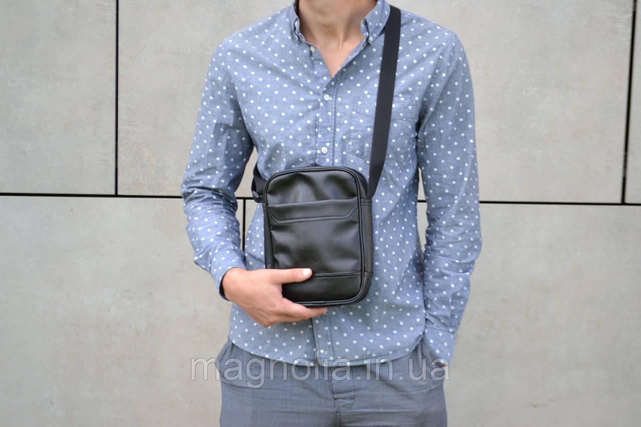 Сумка чоловіча через плече / Мужская сумка мессенджер  / мужская сумка через плечо /