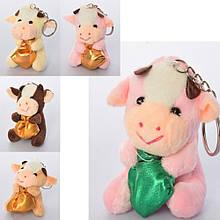Мягкая игрушка брелок Корова символ 2021 года