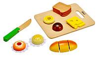 4100102 Набор для приготовления закусок деревянный (14эл.)