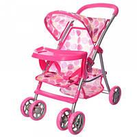 Коляска для кукол Melogo 9304BW-T/025 (pink), фото 1
