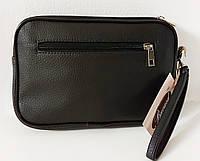 Мужской клатч 7805 черный. Мужские клатчи от производителя, пошив мужских сумок, пошив барсеток