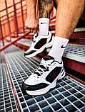 "Мужские кроссовки Nike Air Monarch IV ""Black/White"" (копия), фото 8"