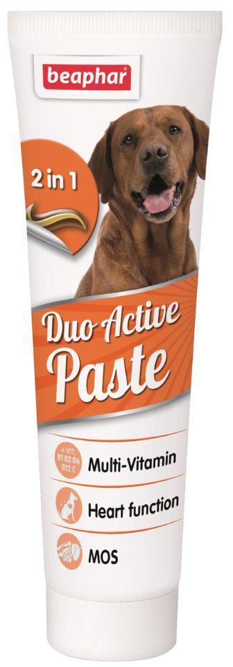 ДУО АКТИВЕ ПАСТА DUO ACTIVE PASTA BEAPHAR мультивитаминная добавка для имунной системы и ЖКТ собак, 100 гр
