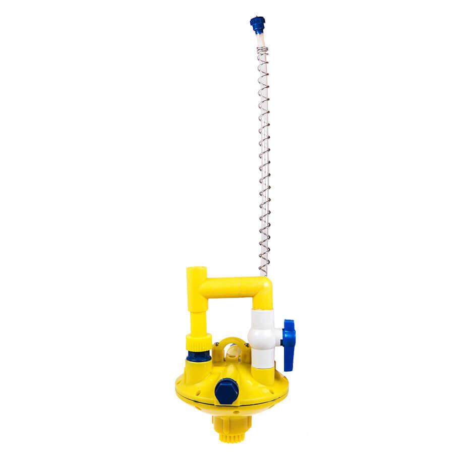 Регулятор давления воды серединный с переключателем промывки