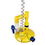 Регулятор давления воды серединный с переключателем промывки, фото 3