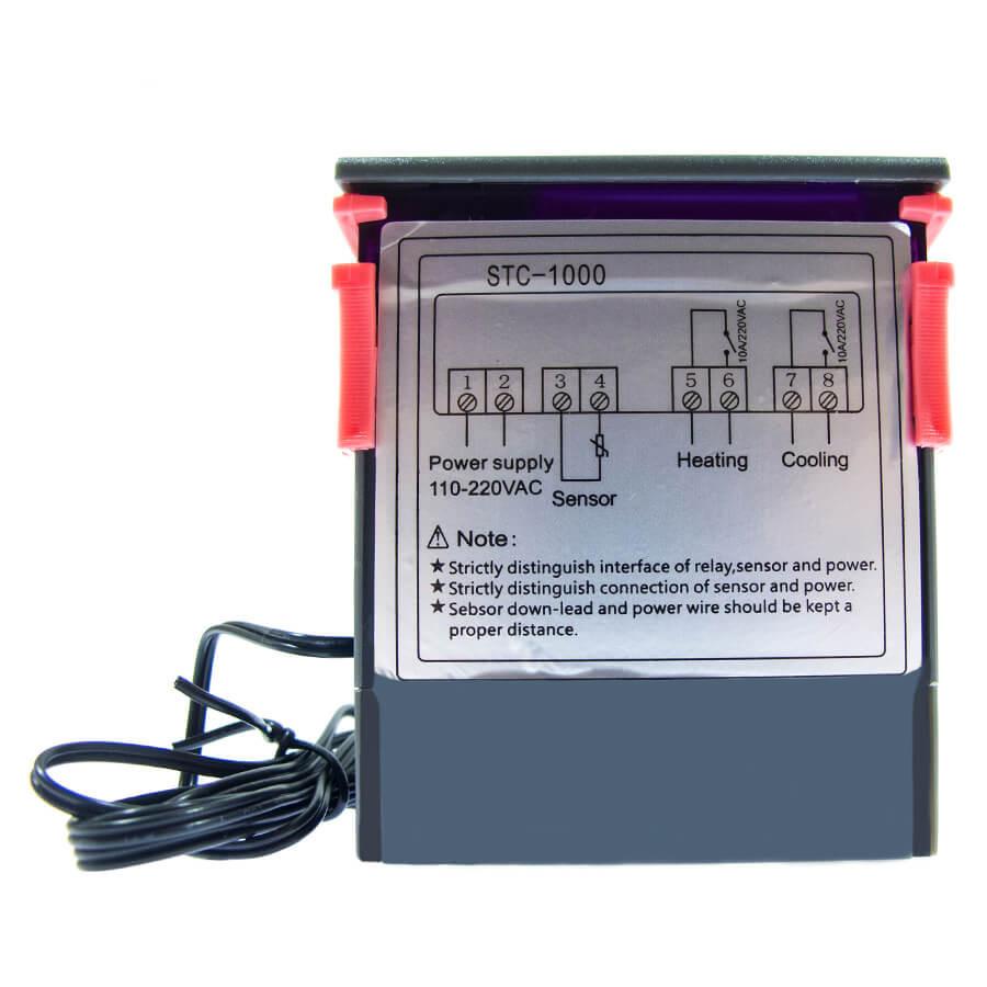 Цифровой термостат с выносным датчиком