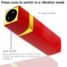 Вибратор для клитора помада Simple Touch 1 USB девушке на подарок, фото 2
