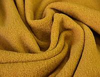 Пальтовая ткань итальянская шерстяная натуральная песочный жёлтый однотонная DOK 9, фото 1