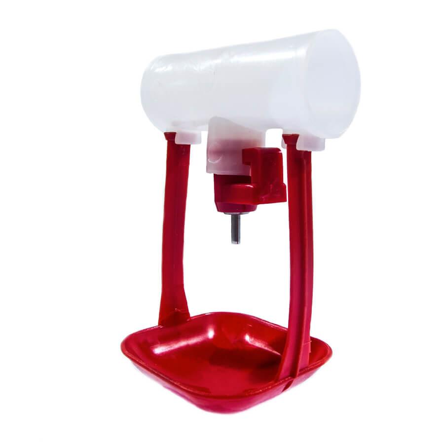 Модуль ниппельного поения под круглую трубу 25 мм с капл-лем