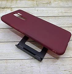 Силиконовый чехол на Xiaomi Redmi 9 цветной