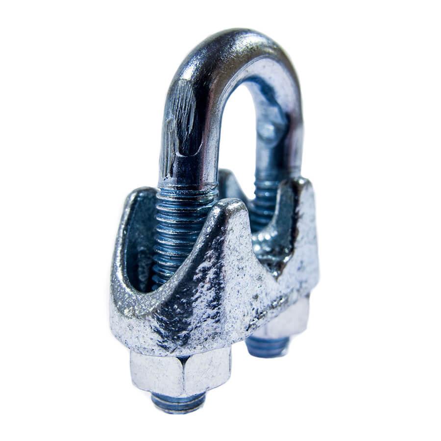 Зажим винтовой d.3 DIN 741 для стального троса