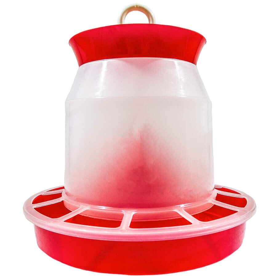 Бункерная кормушка 4,3 л / 2,9 кг для кур несушек, бройлеров, уток, гусей, индюков, перепелов