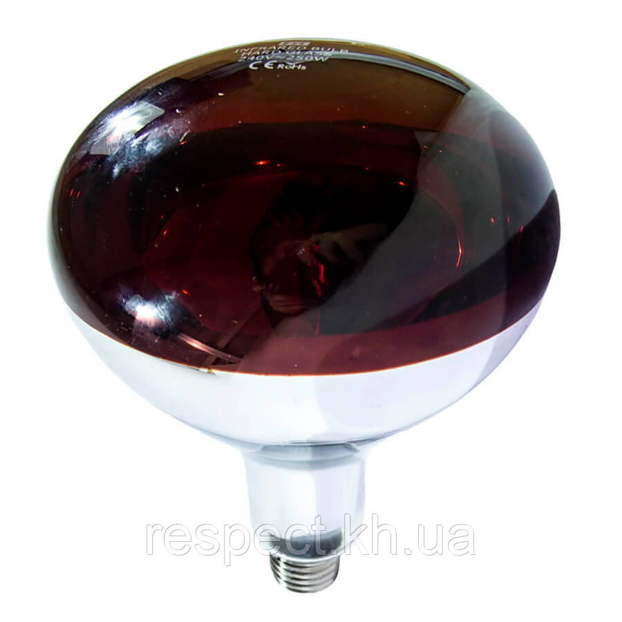 Лампа инфракрасная R125 100 Вт красн. LO