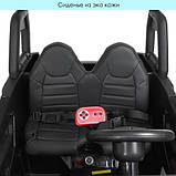 Детский электромобиль Bambi JS360EBLR-2(24V) черный, фото 6