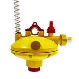 Регулятор давления воды концевой с переключателем промывки AT, фото 3