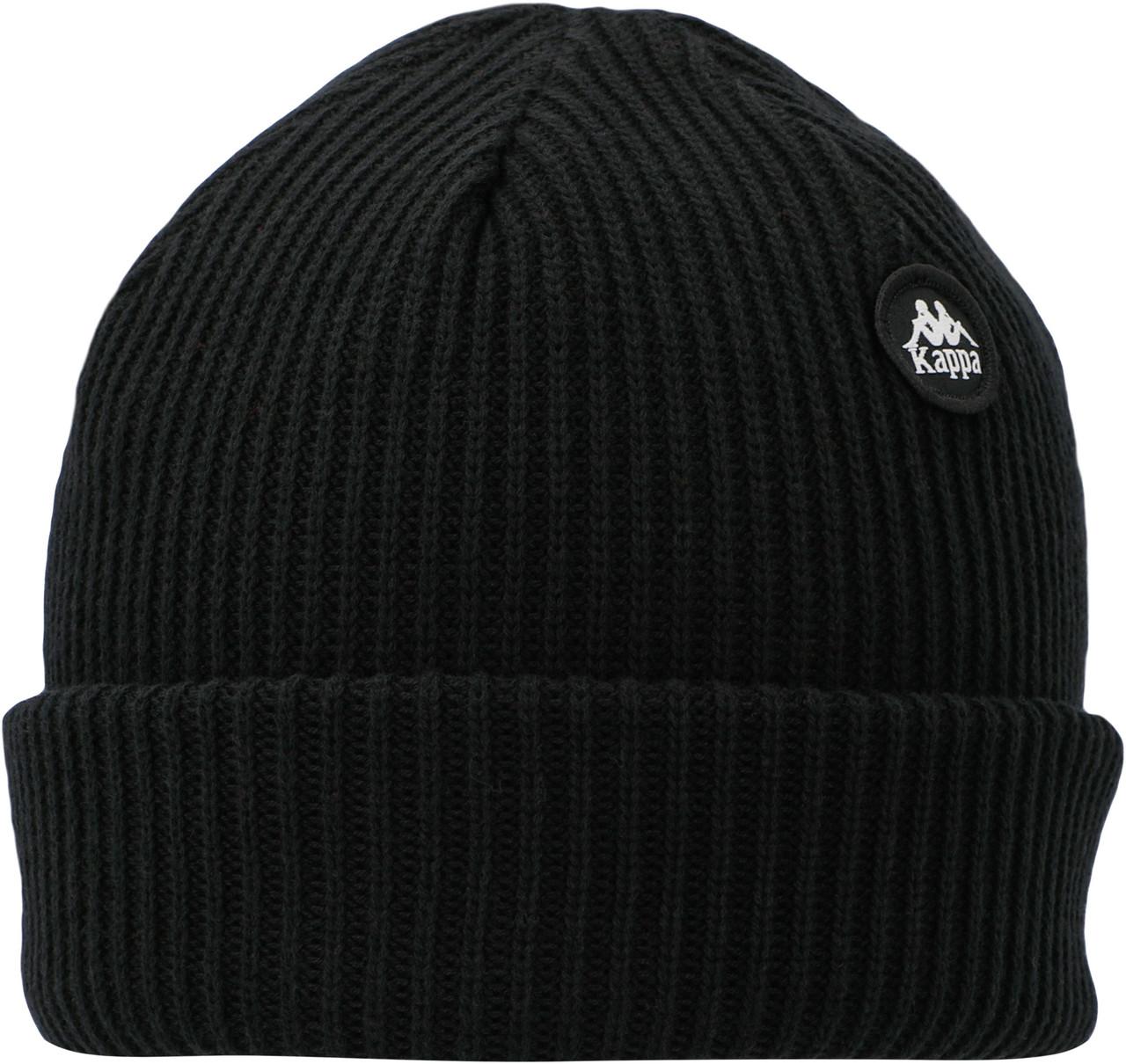 Черная шапка Kappa