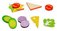 4100105 Набор для приготовления сандвичей деревянный.(12эл.)