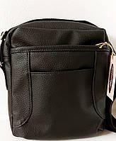 Мужская сумка 7426 черный. Пошив мужских сумок в Украина. Мужские сумки оптом в Украине