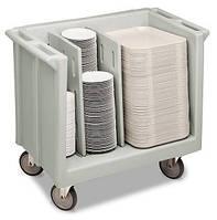 Регулируемая тележка для посуды серии S  Регулируемая тележка для посуды и подносов