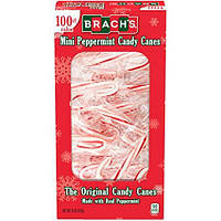 Brach's Mini Peppermint Candy Canes 100s 425 g