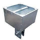 Бункер (хоппер) 90 кг в сборе (с поддоном и валом), фото 3