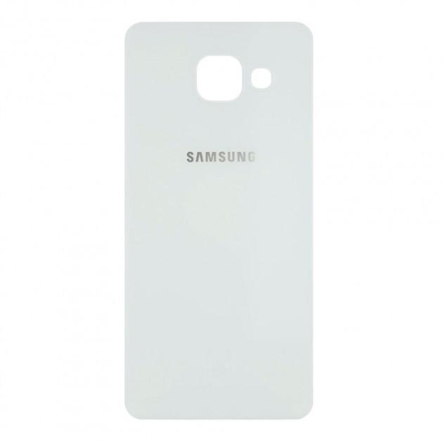 Задняя панель корпуса для Samsung Galaxy A5 2016 | A510 (Качество ААА) (Белая)
