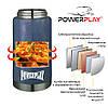 Термос харчовий PowerPlay 9002 Синій 750 мл, фото 6