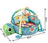 Развивающий коврик Happy Space Черепаха 518-60, фото 2