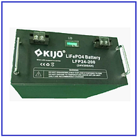 Аккумулятор Kijo FePO4 24V 200Ah Lithium Iron Phosphate (WITH LED), фото 1