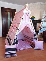 """Вигвам-домик """"Элит"""" Полный комплект! Вигвам детская палатка"""