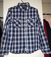 Рубашка подростковая в клетку  H&M  164 рост