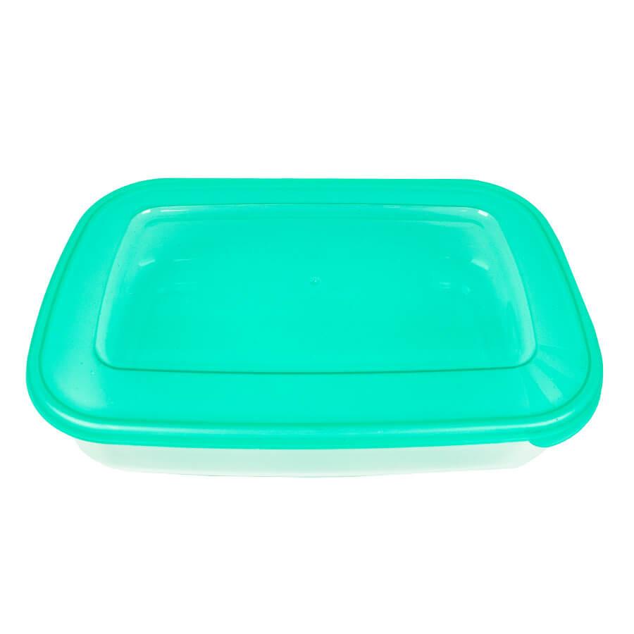 Пластиковый контейнер для продуктов овальный 3 л