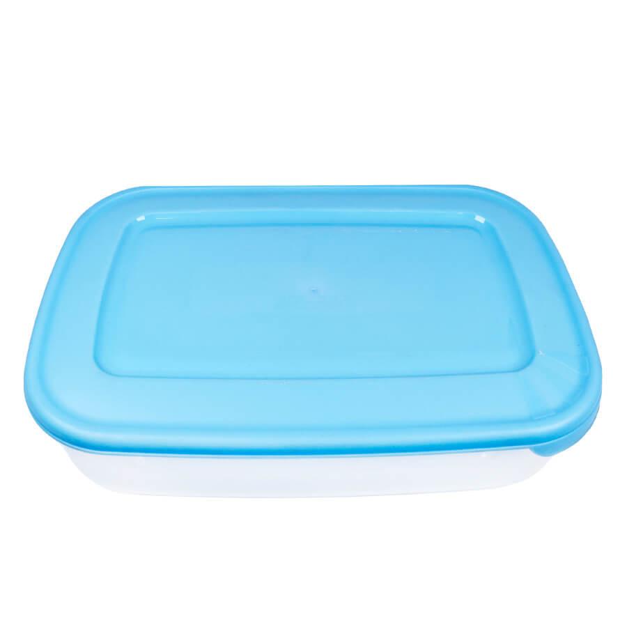 Пластиковый контейнер для продуктов овальный 4,4 л
