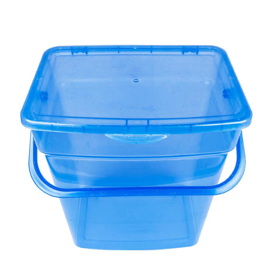 Пластиковый контейнер для продуктов прямоугольный 6 л (с ручкой)