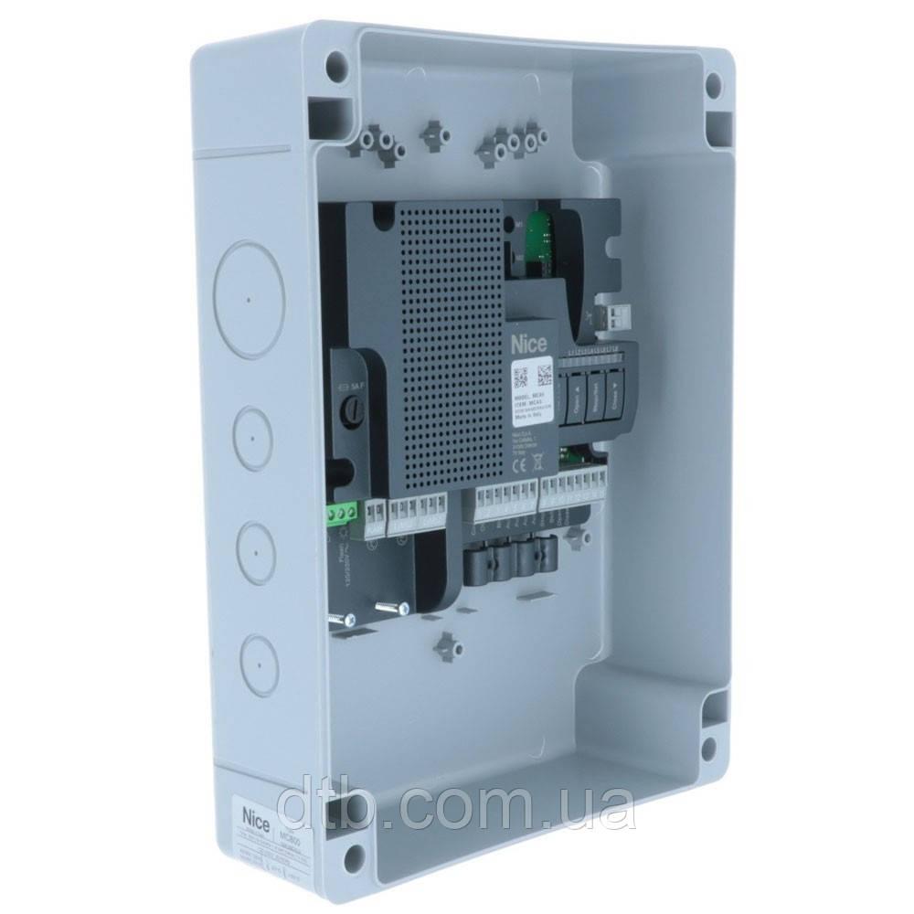 Блок управления автоматикой MC800 Nice для распашных ворот