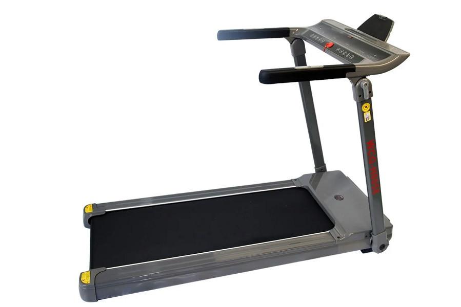 Бігова доріжка електрична WCG-H0058 складна для будинку і залу (бігова доріжка до 110 кг сіра компактна)