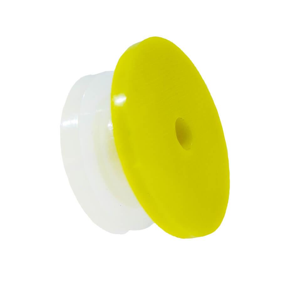 Ушная бирка (клипса) для кролей круглая 18 мм (чистая)