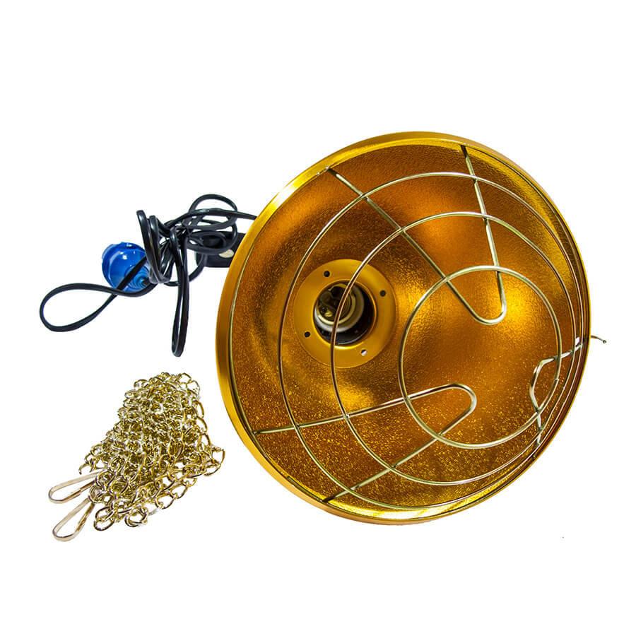 Защитный плафон (абажур) для инфракрасной лампы (аналог InterHeat) мал.