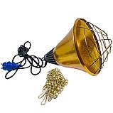 Защитный плафон (абажур) для инфракрасной лампы (аналог InterHeat) бол., фото 2