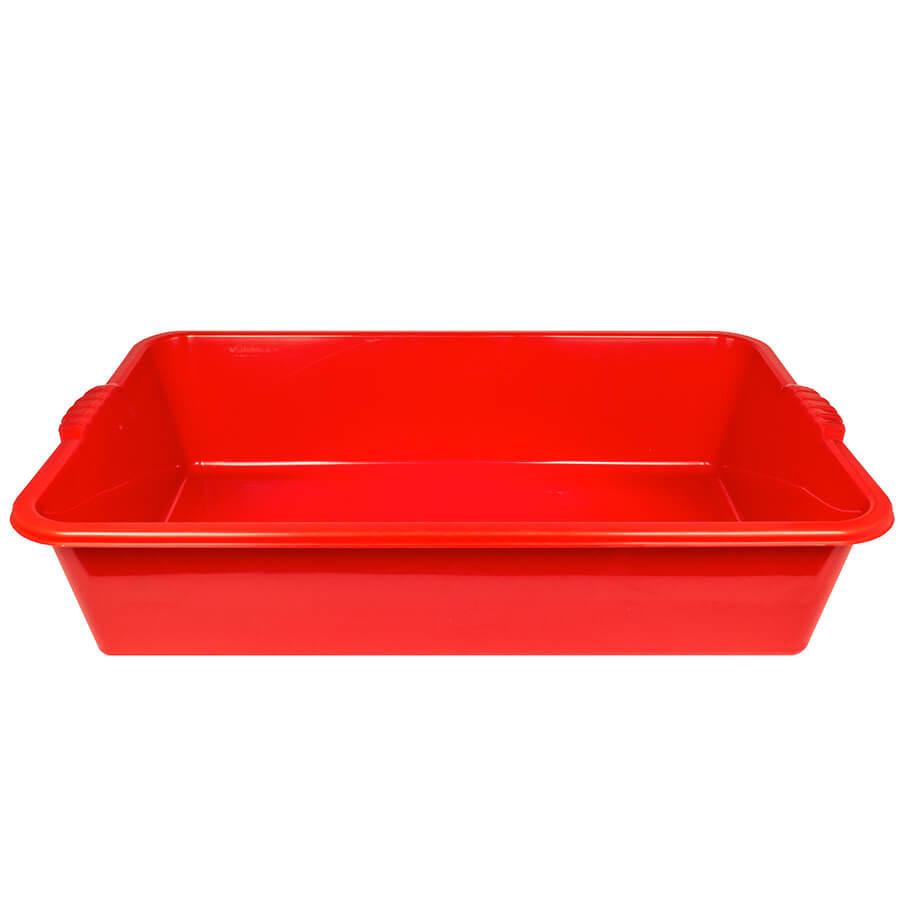 Таз прямоугольный на 40 л (красный)