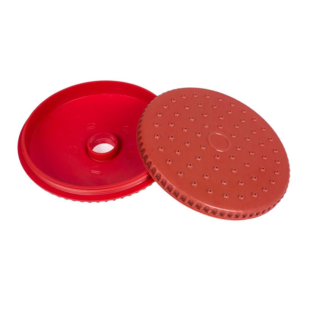 Насадка распылительная Ø 12,5 см для полива (красная)