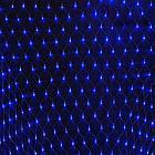 Гирлянда сетка светодиодная 120 LED, Голубая (Синяя), прозрачный провод, 1,5х1,2м., фото 2