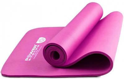 Коврик для йоги Power System Fitness Yoga Розовый 183994