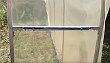 Теплица «Веган» 2×4 из оцинкованной квадратной трубы с пленкой 120 мкм, фото 7