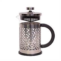 Заварник френчпресс Kamille 600мл  для чая и кофе KM-0774M, фото 2
