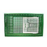 Ящик для перевозки живой птицы с раздвижной верхней дверкой 96х57х27, фото 3