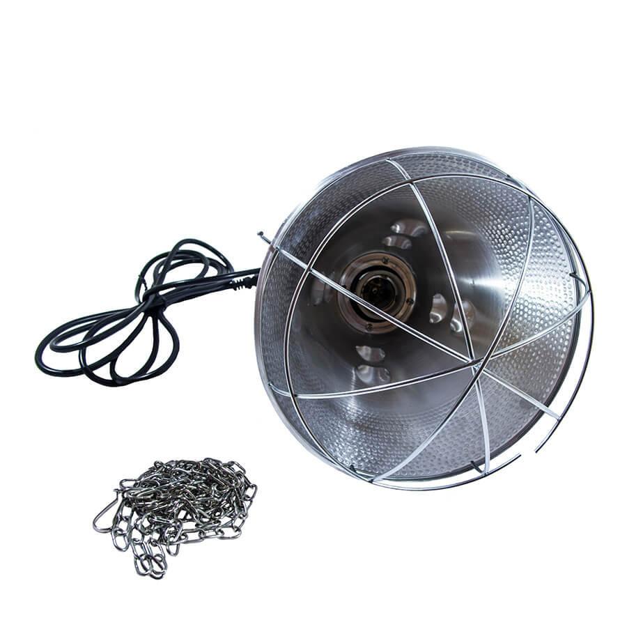 Защитный плафон (абажур) для инфракрасной лампы (с 3-хпоз. переключ.) бол.