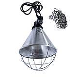 Защитный плафон (абажур) для инфракрасной лампы (с 3-хпоз. переключ.) бол., фото 2